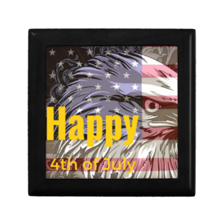 Independence Day - Happy 4th (fourth) July Keepsake Box