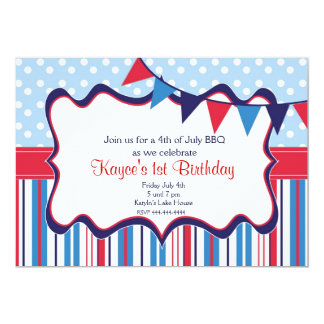 Independence Day Invitation