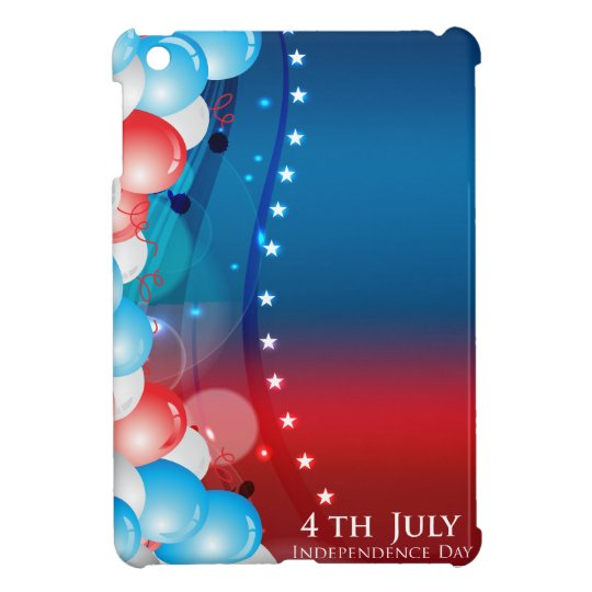 Independence Day July 4 (6) iPad Mini Case