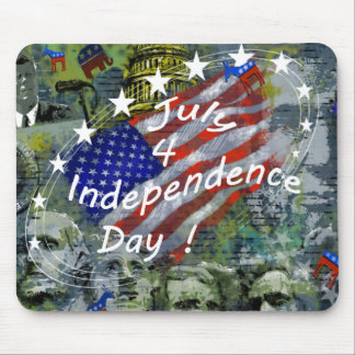 Independence Day, July 4 Mouse Pad