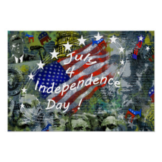 Independence Day, July 4 Poster