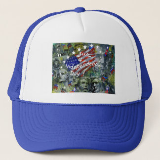 Independence Day, July 4 Trucker Hat
