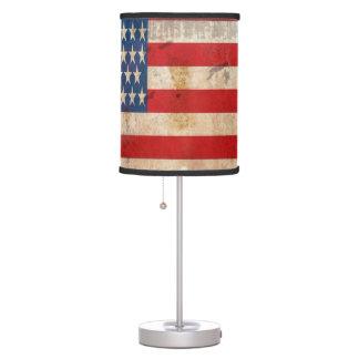 Independence Day July 4 vintage american flag Desk Lamps
