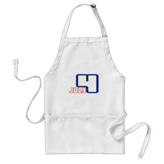 """Independence Day"" July 4th Aprons"