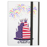 Independence Day July 4th Cake Powis iCase iPad Folio Case