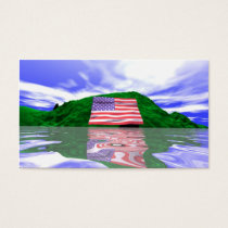 Independence Day Land - Business size Business Card