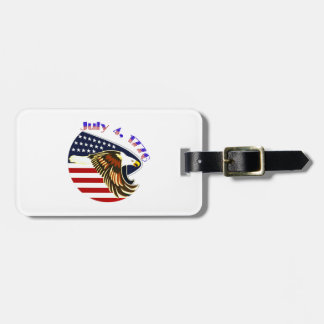 Independence Day Luggage Tag
