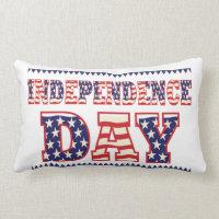 Independence Day Lumbar Pillow