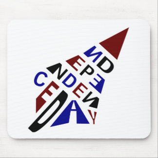 Independence Day Merchandises : Arrow Mouse Pad