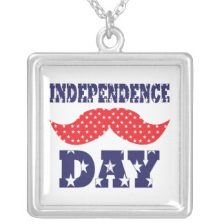 Independence Day Moustache Jewelry