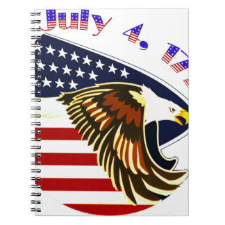 Independence Day Notebook