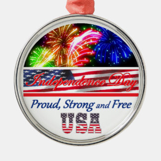 Independence Day Christmas Tree Ornaments
