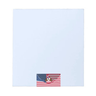 Independence Day owl Notepad