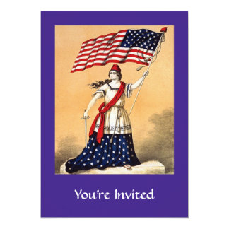 independence day party card