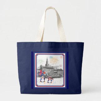Independence Day Penguins Bag