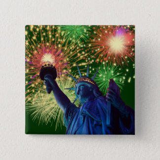 Independence Day! Pinback Button