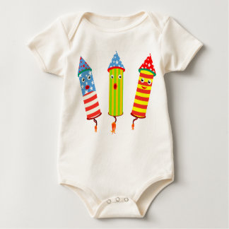 Independence Day Popping Celebration Romper