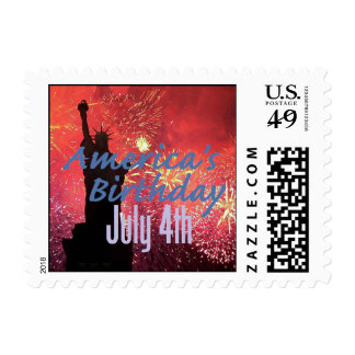INDEPENDENCE DAY Postage