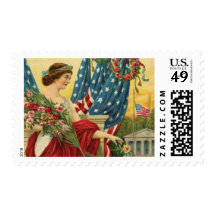 Independence Day Postage Stamp