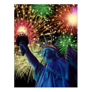 Independence Day! Postcard
