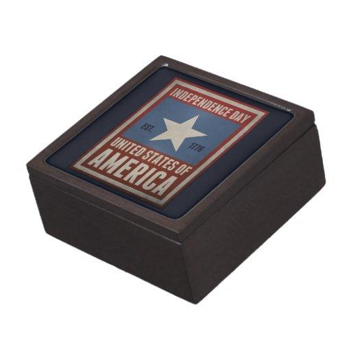 Independence Day Premium Trinket Box