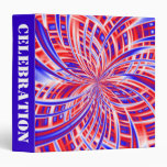 Independence Day Red White & Blue Patriotic Fourth Binder