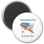Independence Day Refrigerator Magnet