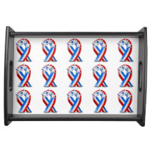 Independence Day Serving Tray