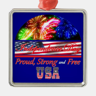 Independence Day Shirt Ornaments