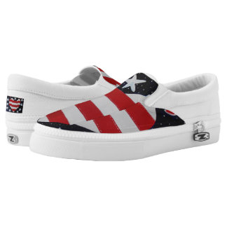 Independence  Day Slip-On Sneakers