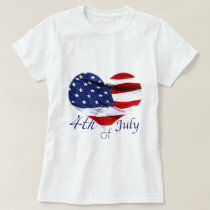 Independence Day  Tie T-Shirt