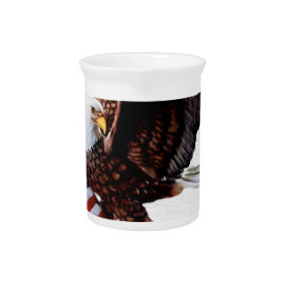 Independence day United States Drink Pitcher