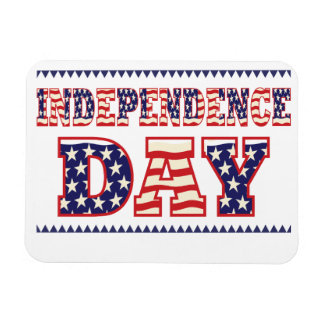 Independence Day Vinyl Magnet