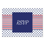 Independence Day Wedding RSVP Card