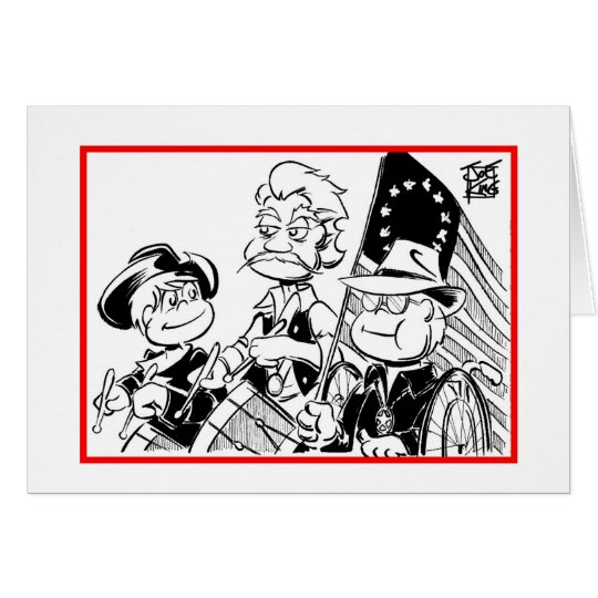"""INDEPENDENCE DAY: """"YANKEE DOODLE"""" CARD"""