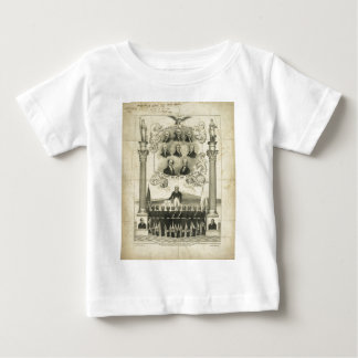 Independence Declared 1776 Union Must Be Preserved Baby T-Shirt