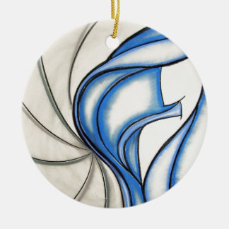 Independence Design Ceramic Ornament