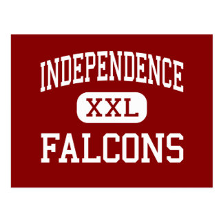 Independence - Falcons - High - Bakersfield Postcard