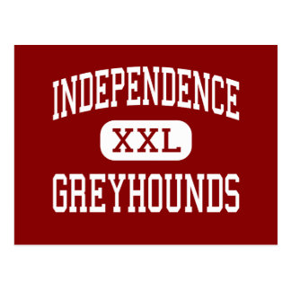 Independence - Greyhounds - High - Winston Salem Postcard