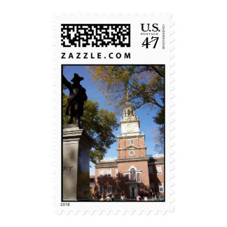 Independence Hall in Philadelphia photo by GBillip Postage Stamp
