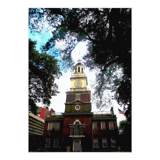 Independence Hall Philadelphia Card