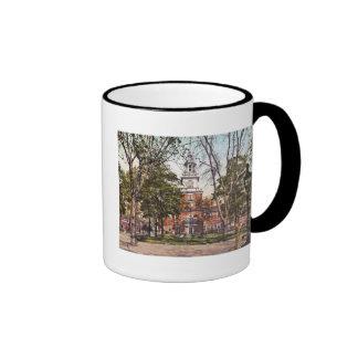 Independence Hall Philadelphia, PA 1900 Vintage Mugs