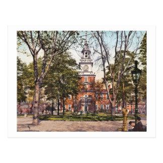 Independence Hall Philadelphia, PA 1900 Vintage Postcard