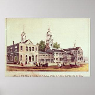 Independence Hall, Philadelphia Poster