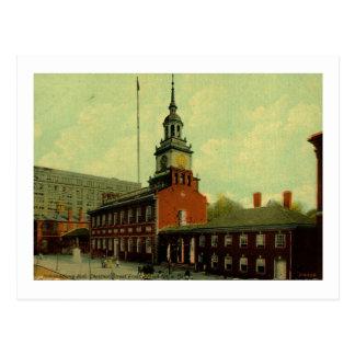 Independence Hall, Philadelphia Vintage Postcard