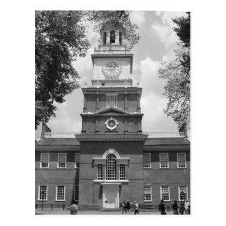 Independence Hall Photograph Philadelphia Postcard