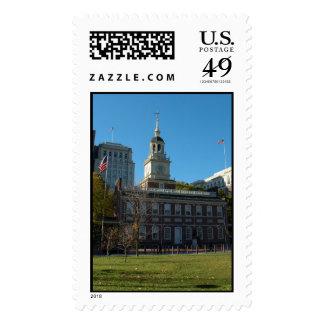 Independence Hall Postage Stamp