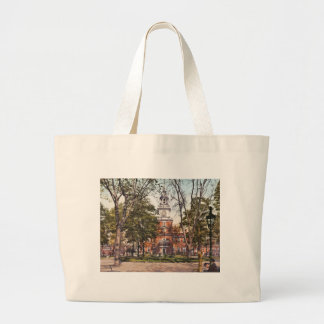 Independence Hall Vintage Philly Pensylvania Canvas Bag