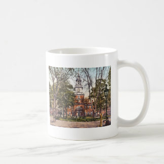 Independence Hall Vintage Philly Pensylvania Coffee Mug