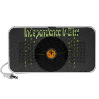 Independence Is Bliss Mini Speaker
